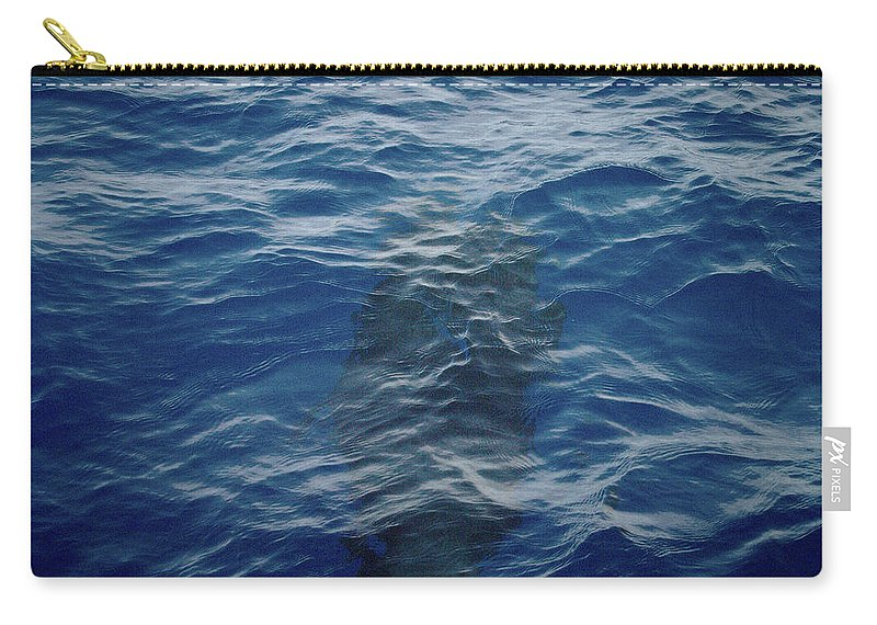 Valasretki Carry-all Pouch featuring the photograph Pilot Whale 8 by Jouko Lehto