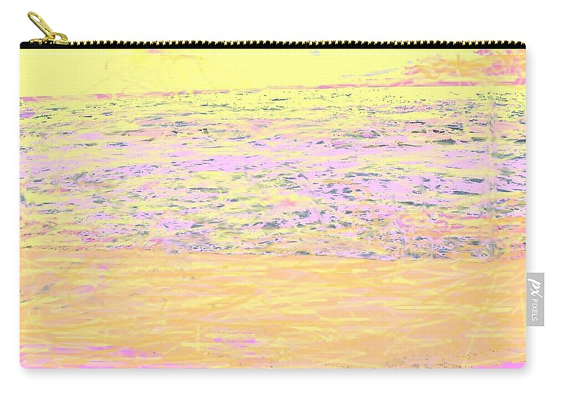 Seascape Carry-all Pouch featuring the photograph Pineapple Sunset by Ian MacDonald