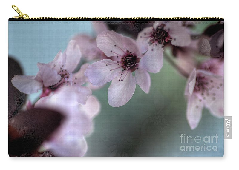 Pink Carry-all Pouch featuring the photograph Pink Blossoms by Jim And Emily Bush
