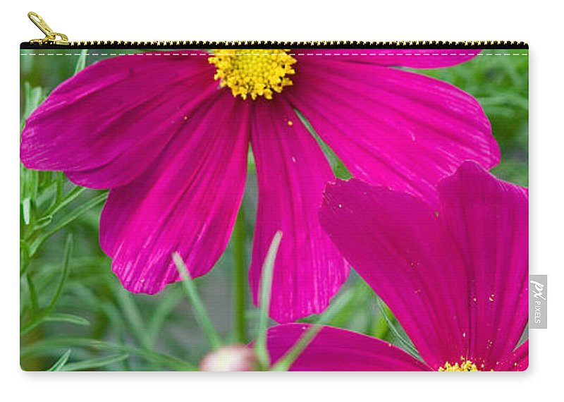 Pink Carry-all Pouch featuring the photograph Pink Flower by Michael Bessler