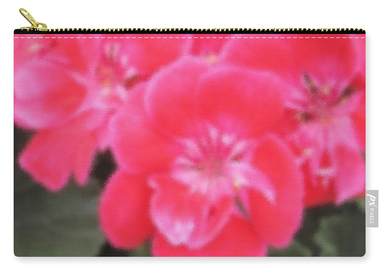 Pink Carry-all Pouch featuring the photograph Pink by Ian MacDonald