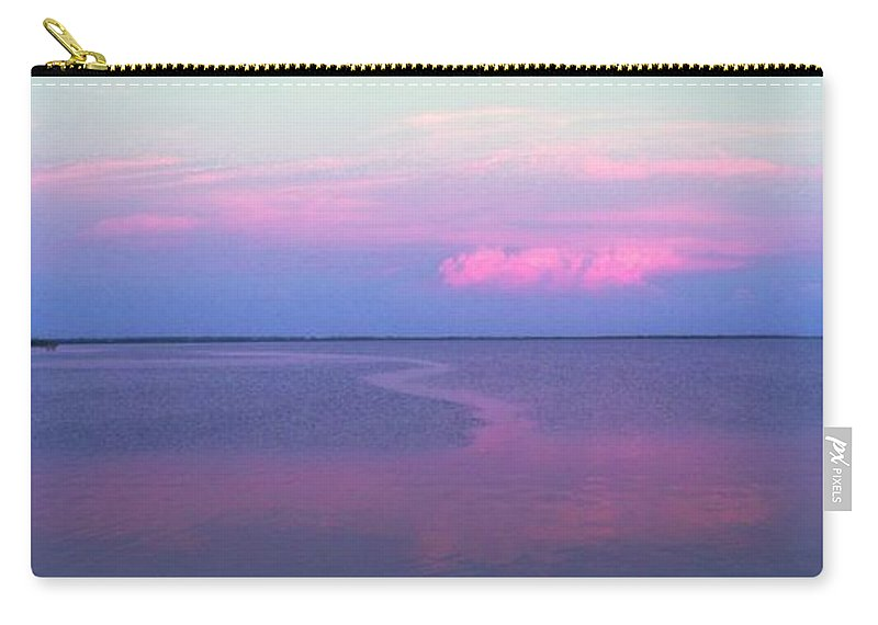 Sunset Carry-all Pouch featuring the photograph Pink Path by Ian MacDonald