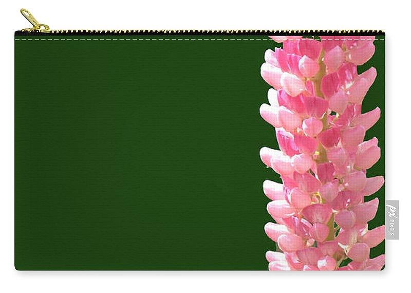 Flower Carry-all Pouch featuring the photograph Pink Tower by Ian MacDonald