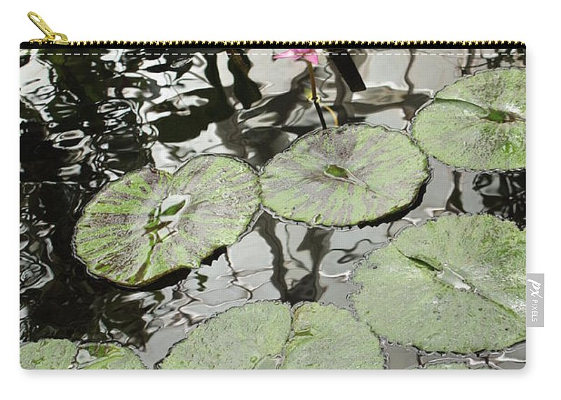 Ond Carry-all Pouch featuring the photograph Pink Water Lily by Carol Groenen