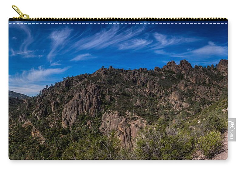 Michele James Photography Carry-all Pouch featuring the photograph Pinnacles View by Michele James
