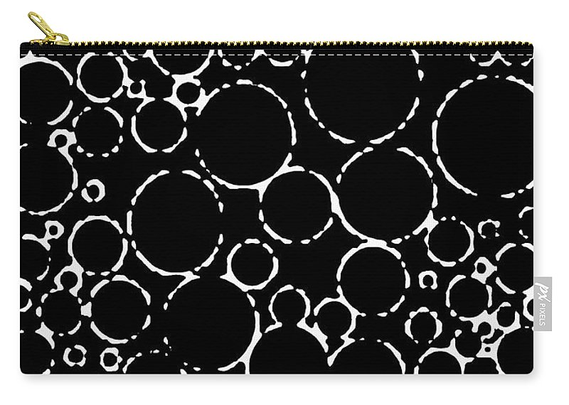 Abstract Carry-all Pouch featuring the digital art Pipe Dream by Will Borden