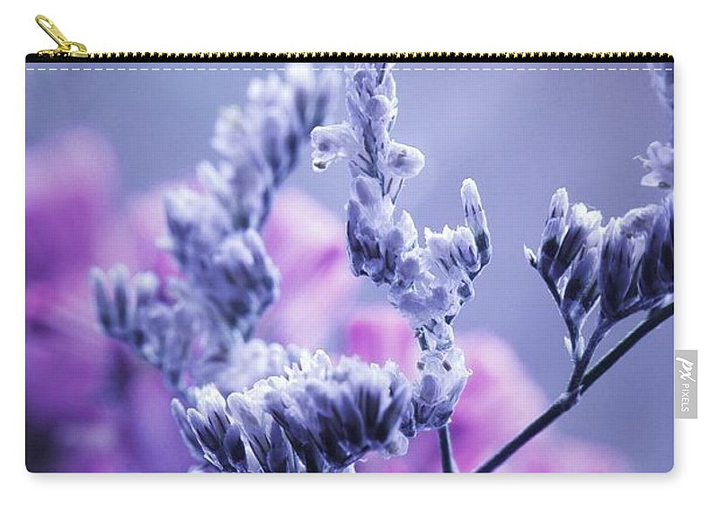 Flowers Carry-all Pouch featuring the photograph Pipe Dreams... by Arthur Miller