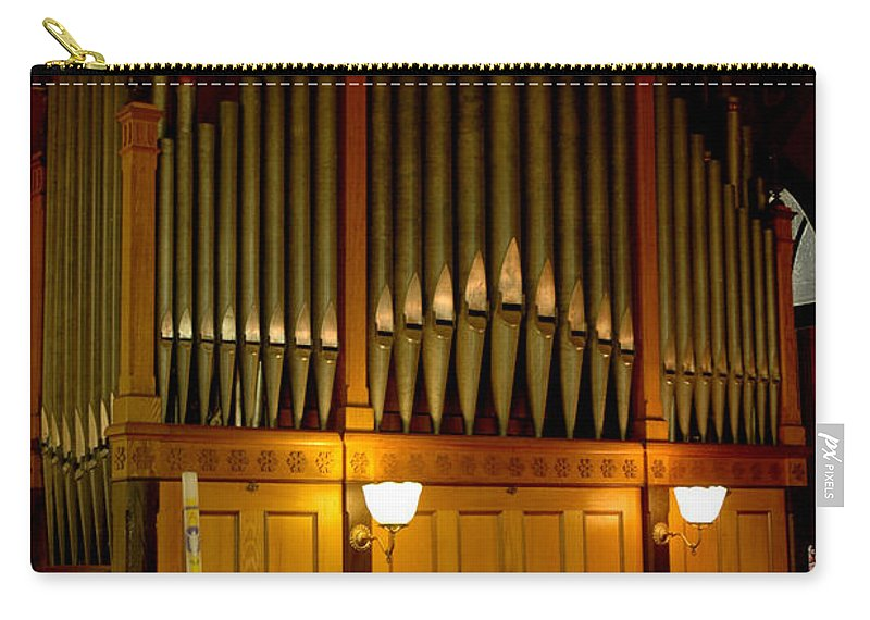 Usa Carry-all Pouch featuring the photograph Pipe Organ by LeeAnn McLaneGoetz McLaneGoetzStudioLLCcom