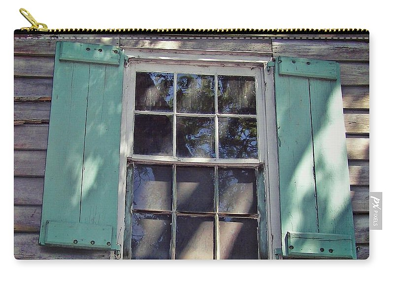 Pirate Carry-all Pouch featuring the photograph Pirate House by JAMART Photography