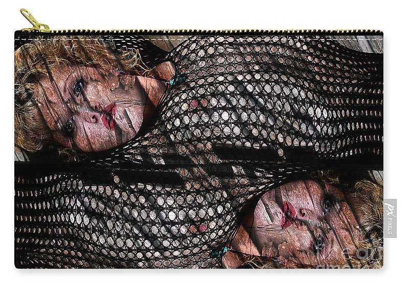Cl;ay Carry-all Pouch featuring the photograph Pisces by Clayton Bruster