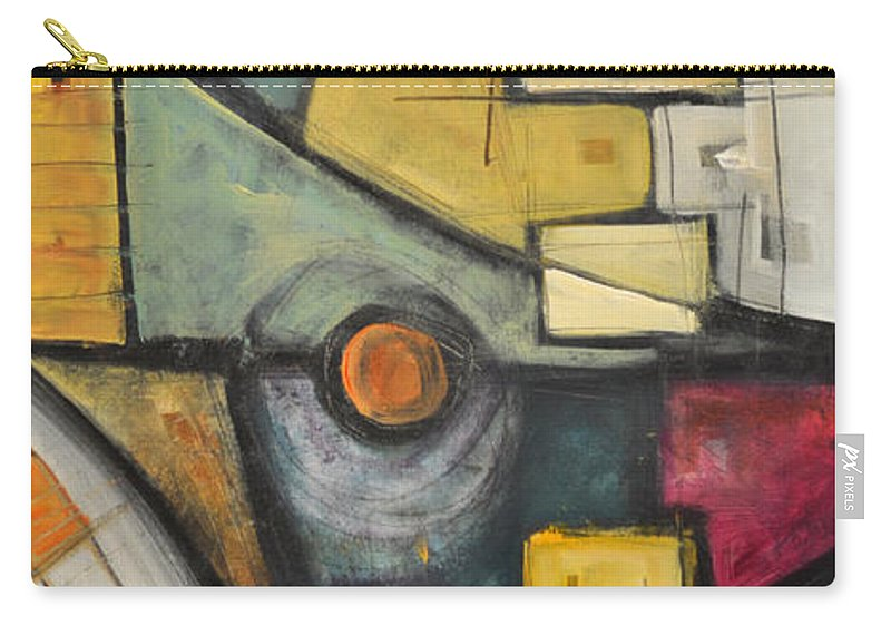 Planet Carry-all Pouch featuring the painting Planet Dada by Tim Nyberg