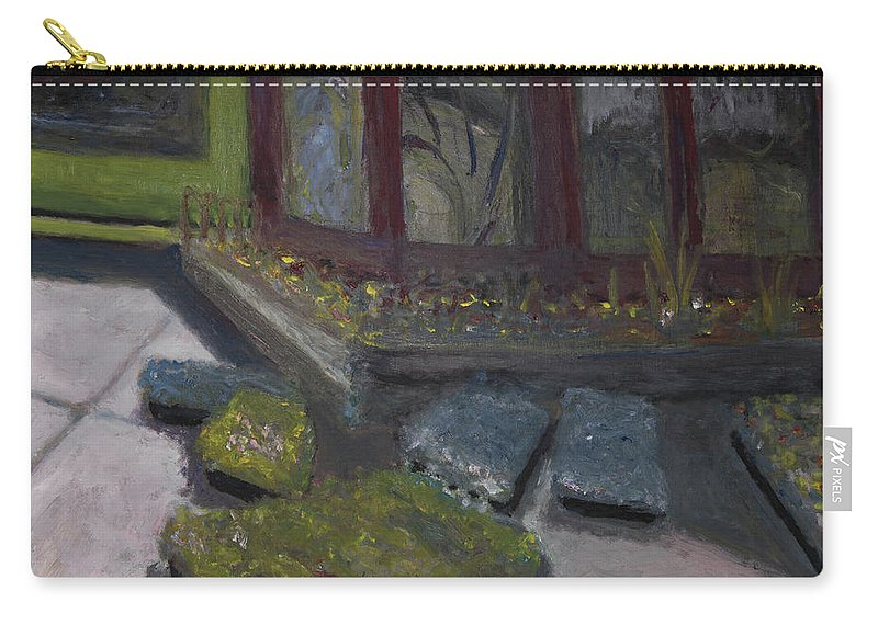 Plants Carry-all Pouch featuring the painting Plant Me by Craig Newland