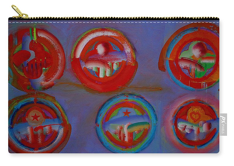 Logo Carry-all Pouch featuring the painting Plate State by Charles Stuart