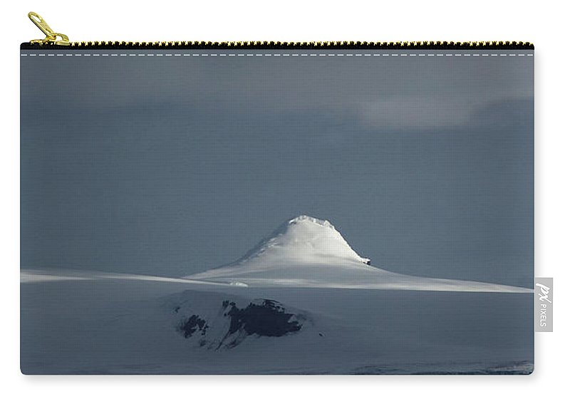 Landscape Carry-all Pouch featuring the photograph Play Of Light In Antartica by Kedar Munshi