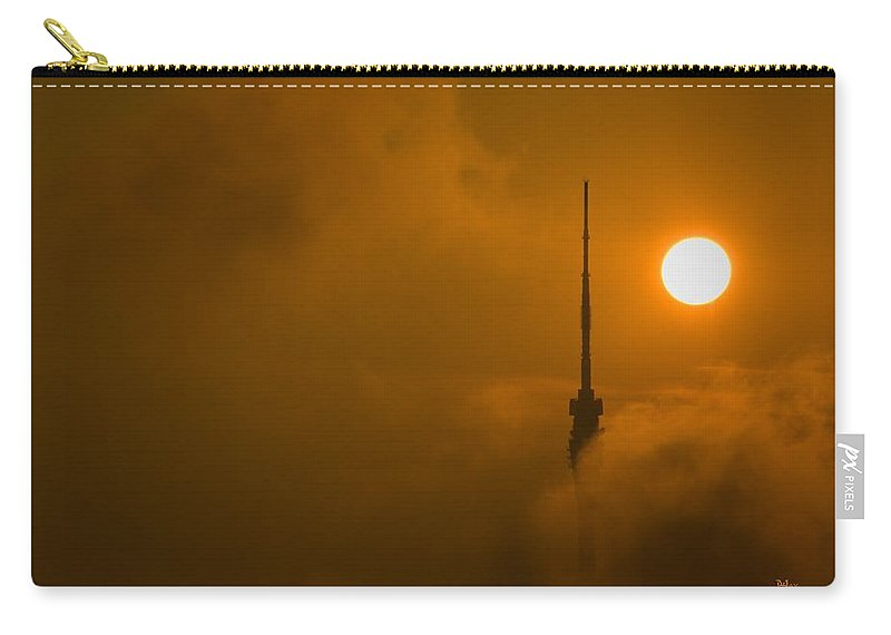 Cloud Carry-all Pouch featuring the photograph Play With The Clouds by Max Steinwald