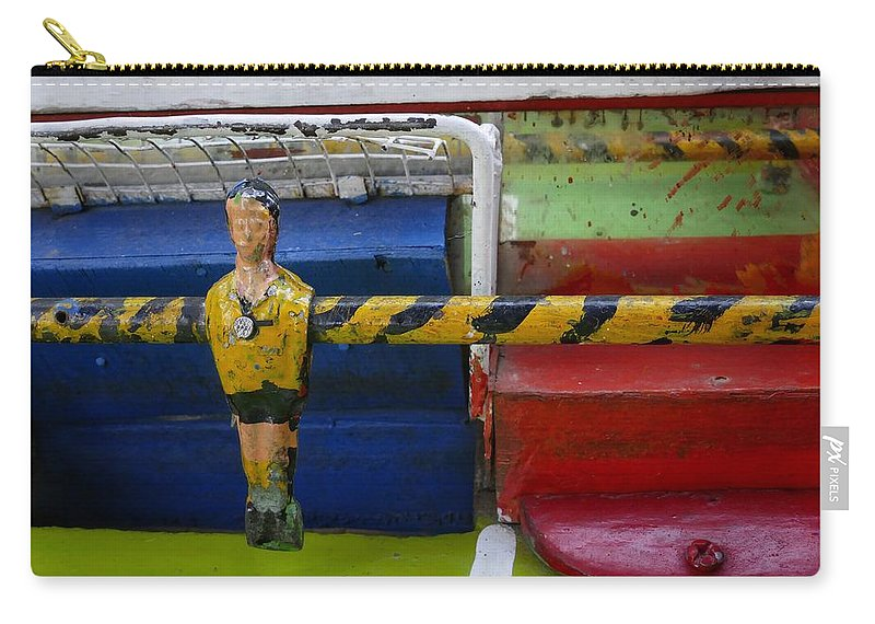 Playah Carry-all Pouch featuring the photograph Playah by Skip Hunt