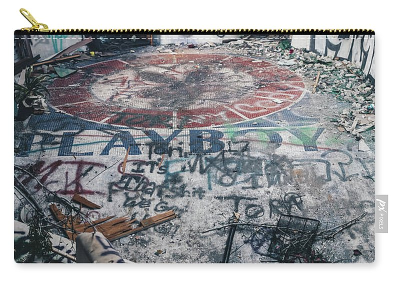 Landscape Carry-all Pouch featuring the photograph Playboy Mansion by Derrick Ragsdale