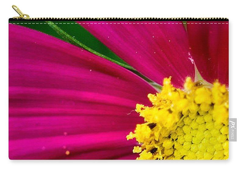 Plink Carry-all Pouch featuring the photograph Plink Flower Closeup by Michael Bessler