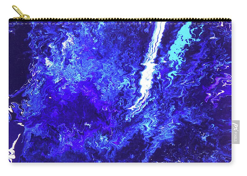 Fusionart Carry-all Pouch featuring the painting Plunge by Ralph White
