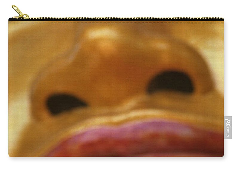 Buddha Carry-all Pouch featuring the photograph Pointing Buddha by Patrick Klauss