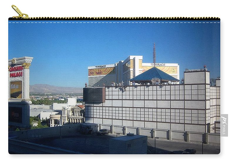 Casinos Carry-all Pouch featuring the photograph Poker Anyone? by Charles HALL
