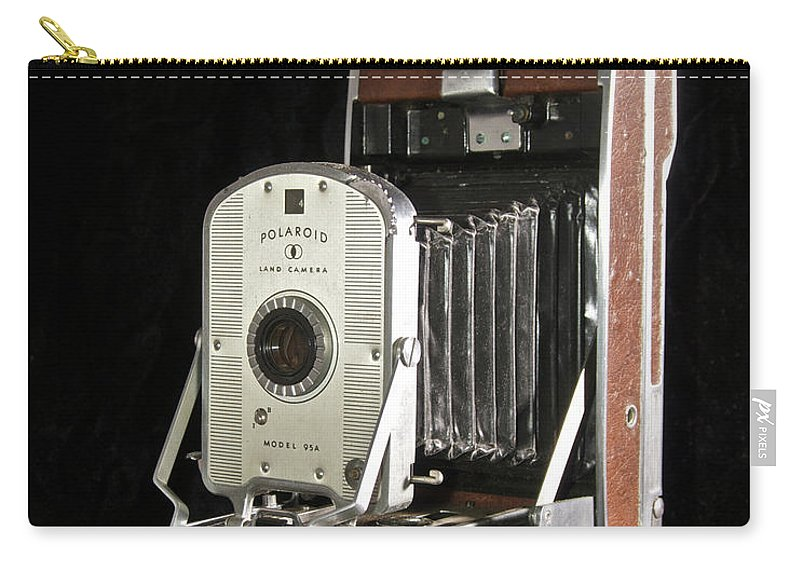 Polaroid Carry-all Pouch featuring the photograph Polaroid 95a Land Camera by Michael Peychich