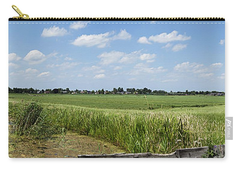 Polder Carry-all Pouch featuring the photograph Polder Near Reeuwijk-1 by Casper Cammeraat