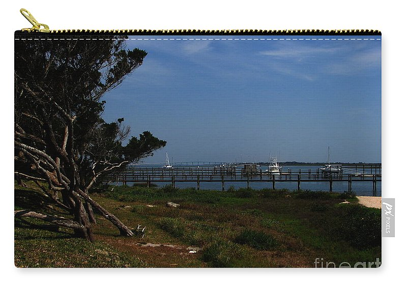 Art For The Wall...patzer Photography Carry-all Pouch featuring the photograph Ponce De Leon by Greg Patzer