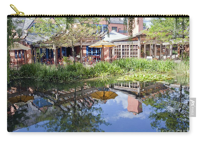 Reflections Carry-all Pouch featuring the photograph Pond Reflections by Madeline Ellis