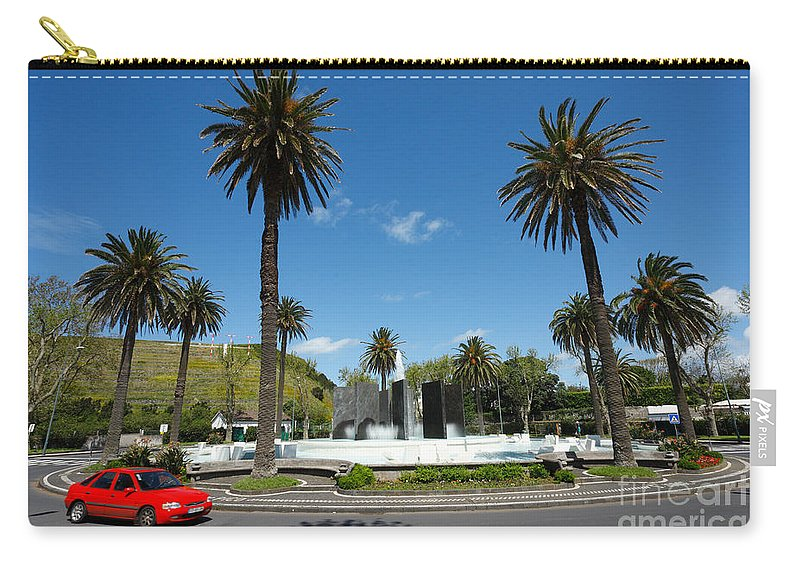 Roundabout Carry-all Pouch featuring the photograph Ponta Delgada by Gaspar Avila