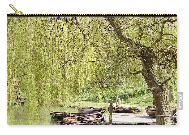 Boat Carry-all Pouch featuring the photograph Poolside by Bob Kemp