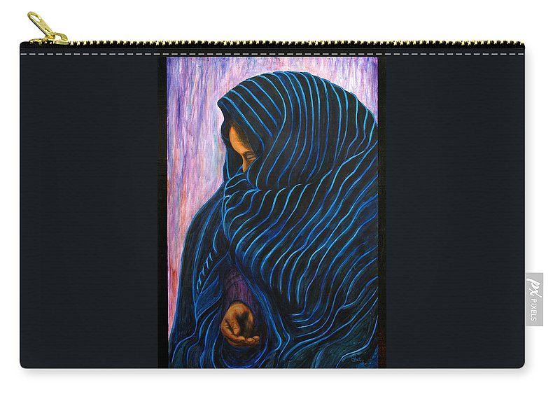 Mexican Carry-all Pouch featuring the painting Por Favor by Pat Haley