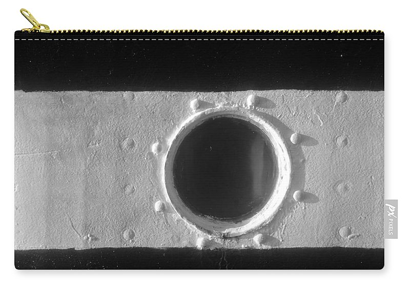 Porthole Carry-all Pouch featuring the photograph Porthole by David Lee Thompson