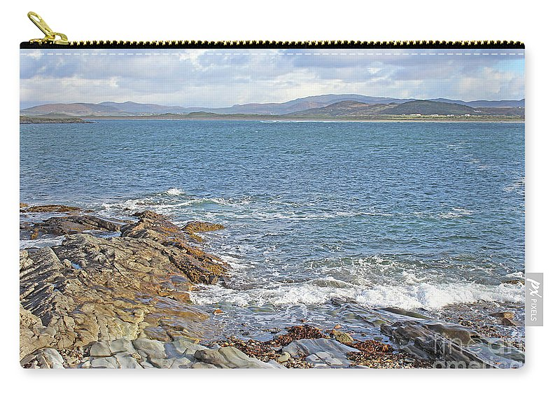 Ireland Carry-all Pouch featuring the photograph Portnoo Harbour by Eddie Barron