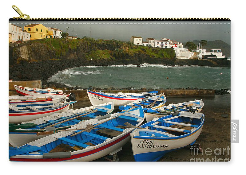 Coastal Carry-all Pouch featuring the photograph Porto Dos Carneiros by Gaspar Avila