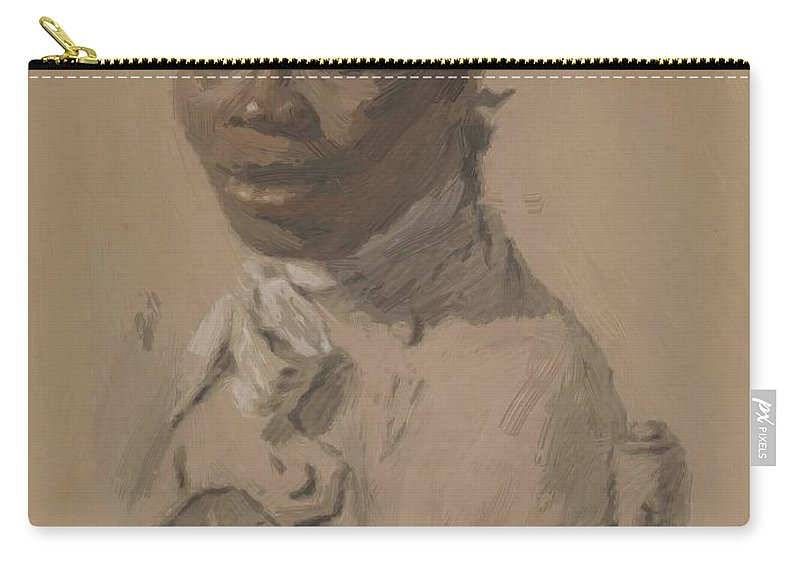 Portrait Carry-all Pouch featuring the painting Portrait Of A Gentleman 1802 by Ducreux Joseph