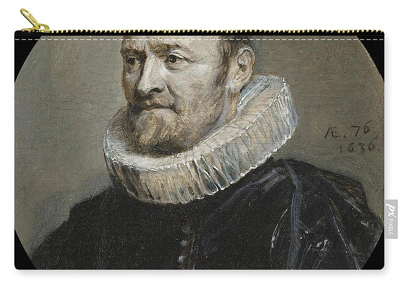 Anthony Van Dyck Carry-all Pouch featuring the painting Portrait Of Nicholas Rockox by Anthony van Dyck