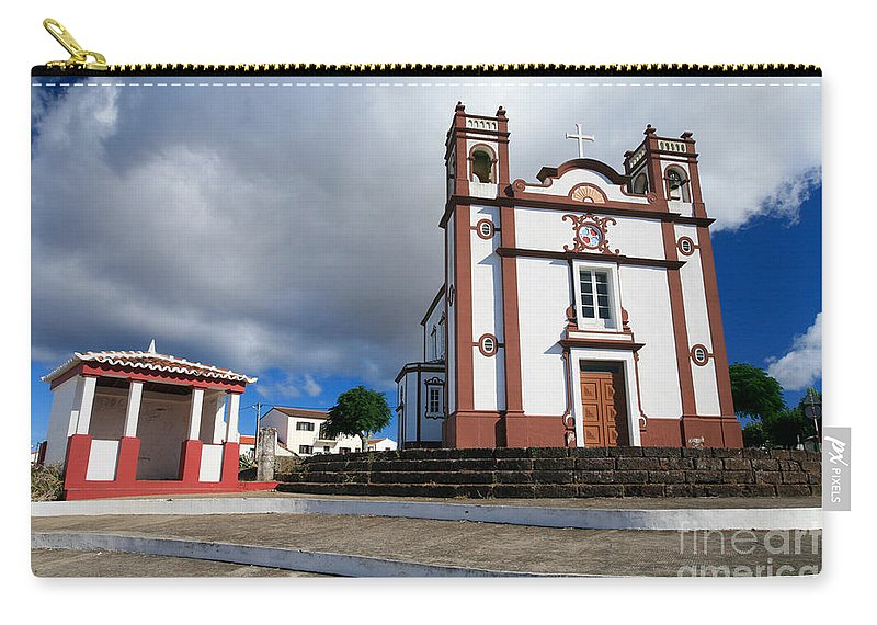 Architecture Carry-all Pouch featuring the photograph Portuguese Church by Gaspar Avila