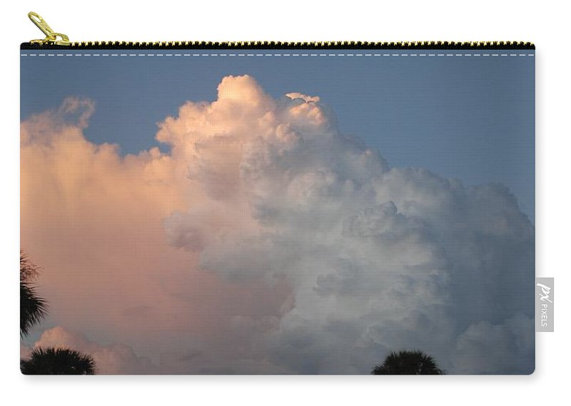 Clouds Carry-all Pouch featuring the photograph Post Card Clouds by Rob Hans