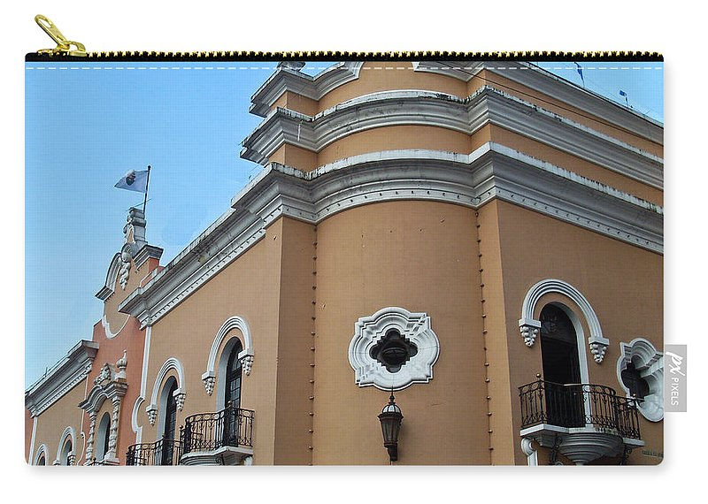 Post Carry-all Pouch featuring the photograph Post Office Guatamala City 6 by Douglas Barnett