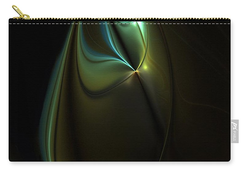 Digital Painting Carry-all Pouch featuring the digital art Potential Moment by David Lane