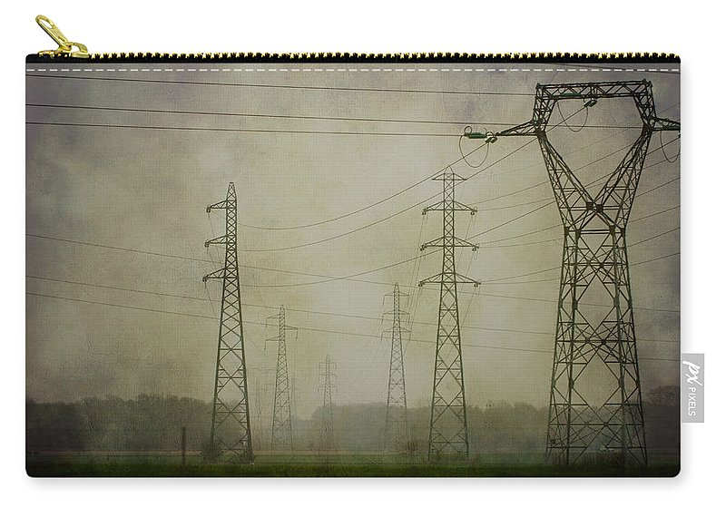 Clare Bambers Carry-all Pouch featuring the photograph Power 5. by Clare Bambers