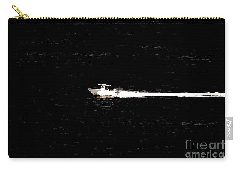 Power Boating Carry-all Pouch featuring the photograph Power Boating by David Lee Thompson