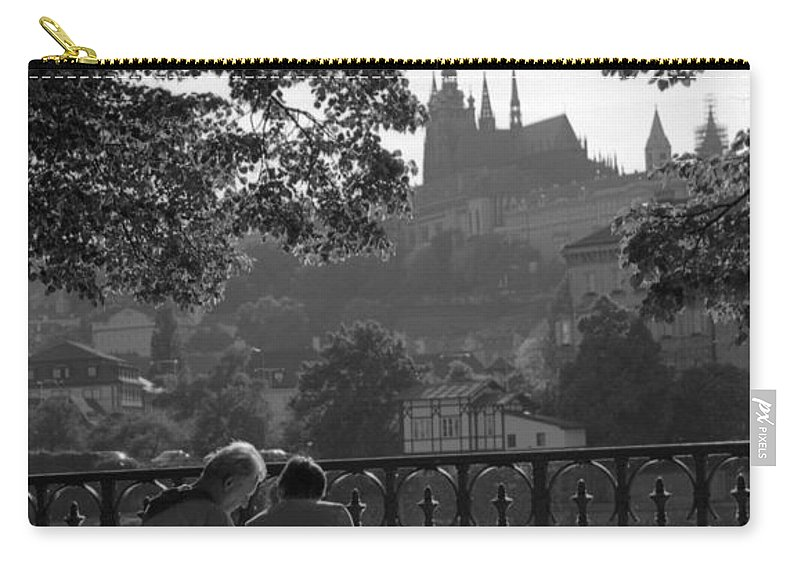 Prague Carry-all Pouch featuring the photograph Prague II by Patrick Klauss