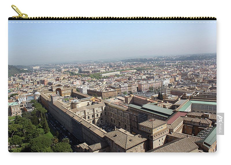 Rome Carry-all Pouch featuring the photograph Prati by Munir Alawi