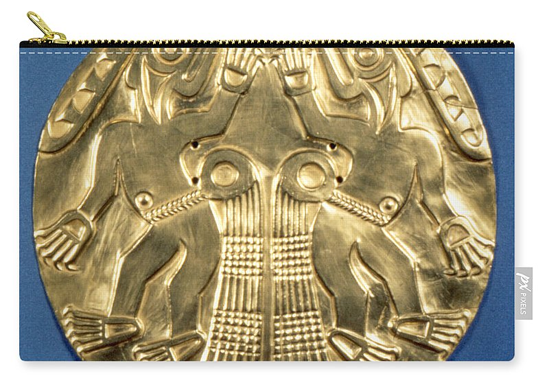 1000 Carry-all Pouch featuring the photograph Pre-columbian Gold, 1000 Ad by Granger