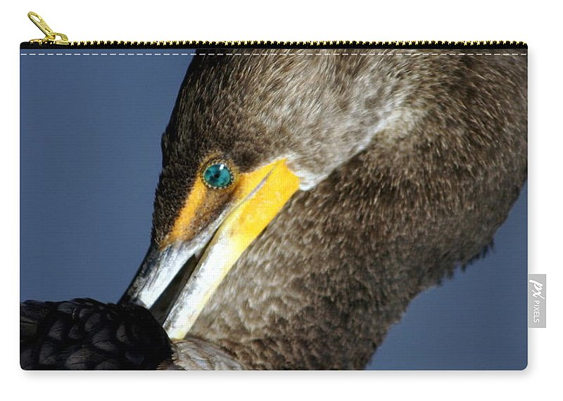 Everglades National Park Carry-all Pouch featuring the photograph Preening by Marty Koch