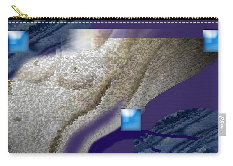 Abstract Carry-all Pouch featuring the digital art Prelude To A Dream by Steve Karol
