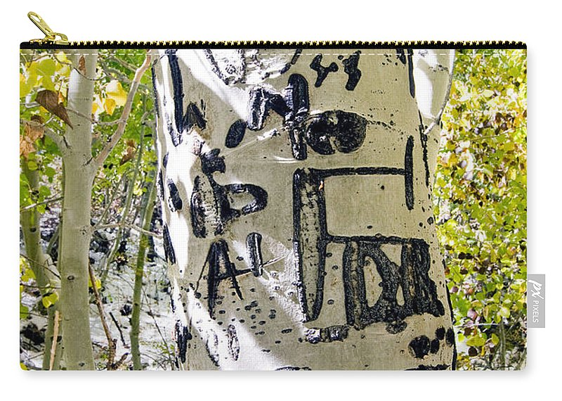 Trees Carry-all Pouch featuring the photograph Presidential Tree by Norman Andrus