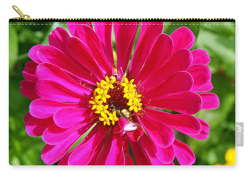 Clay Carry-all Pouch featuring the photograph Pretty In Pink by Clayton Bruster